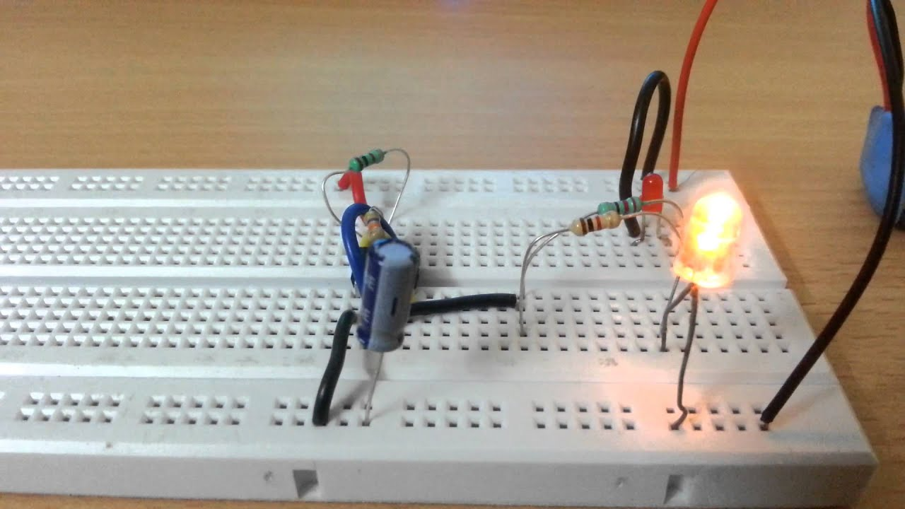 Flashing Led Using 555 Timer