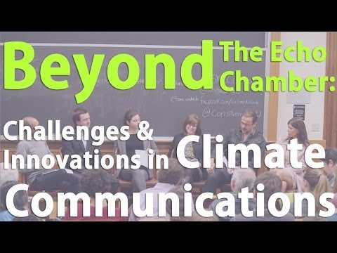 Beyond the Echo Chamber: Challenges & Innovations in Climate Communications