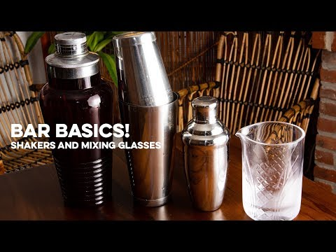 Shakers & Mixing Glasses | Bar Basics