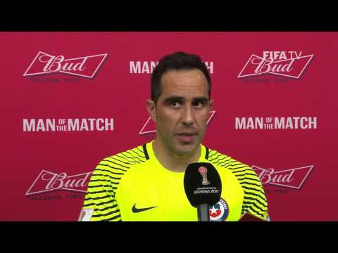 Claudio Bravo: FIFA Man of the Match - Match 13: Portugal v Chile