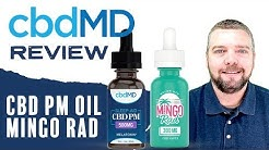 CBDMD PM and CBD Mingo Rad Review With Coupon
