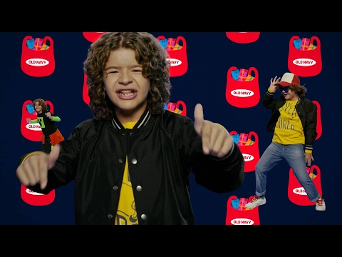 """Gaten Matarazzo's Old Navy Commercial but Every Time He Says """"Scratch"""" or """"100k"""" It Gets Faster"""