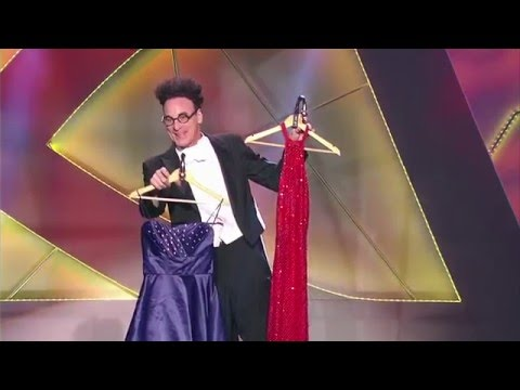 Ed Alonzo   Masters of Illusion   Red Dress