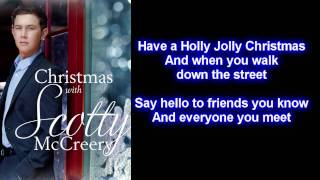 Scotty McCreery - Holly Jolly Christmas (Lyrics)