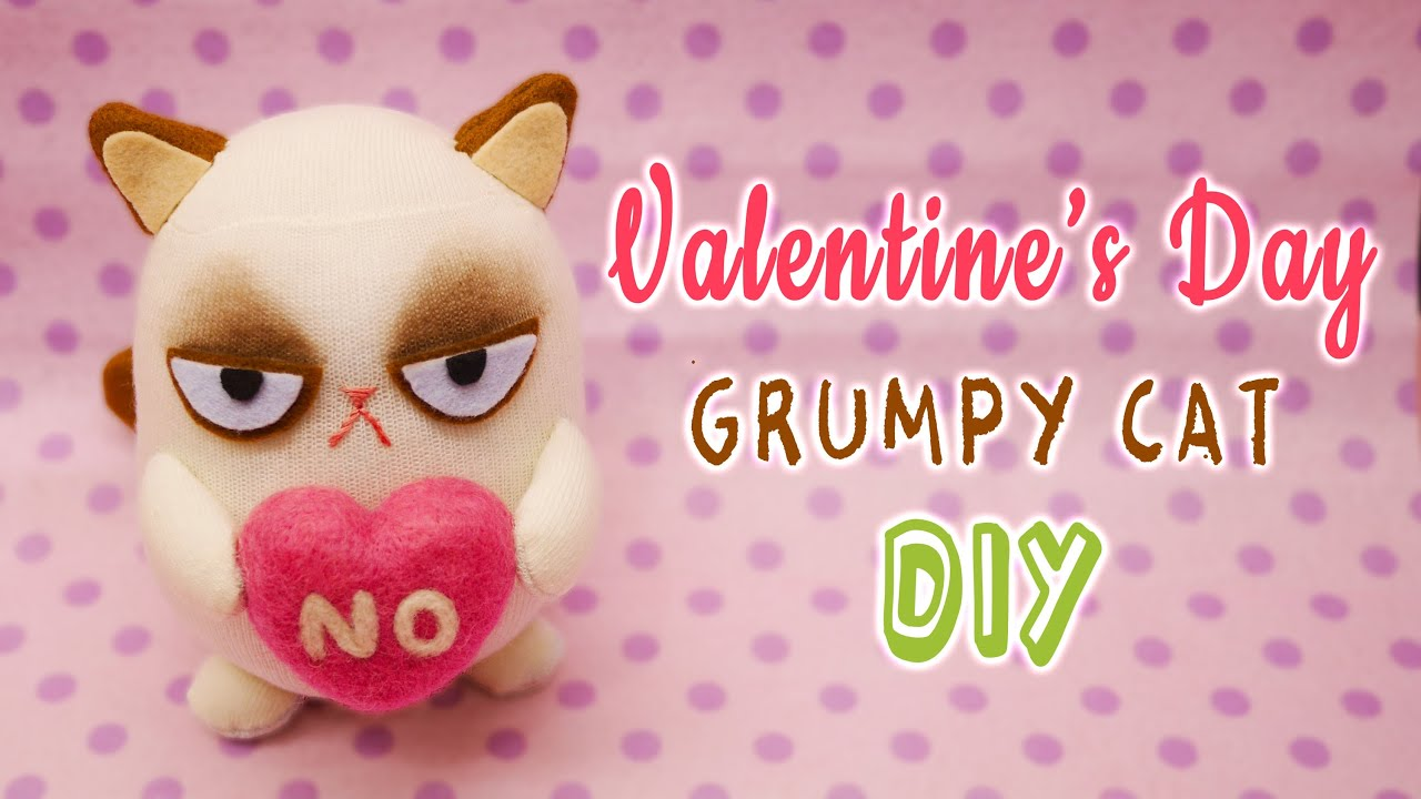 Catnip Toys For Valentine S Day : The gallery for gt simple cute cat drawings