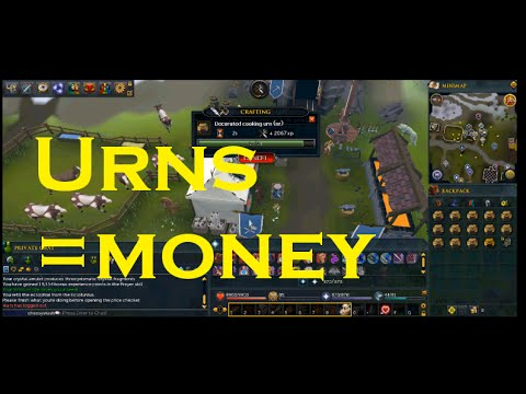 Money From Urn Crafting