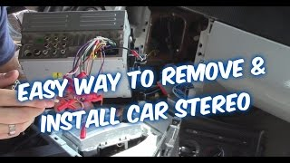 Video HOW TO INSTALL A CAR STEREO & CONNECT CAR RADIO WIRING TO AMP SUB download MP3, 3GP, MP4, WEBM, AVI, FLV Mei 2018