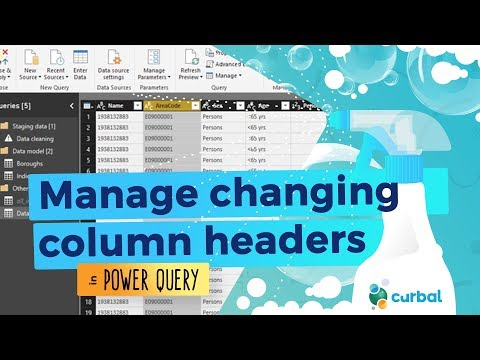 Managing changing column names in Power Query #10: (M)agic