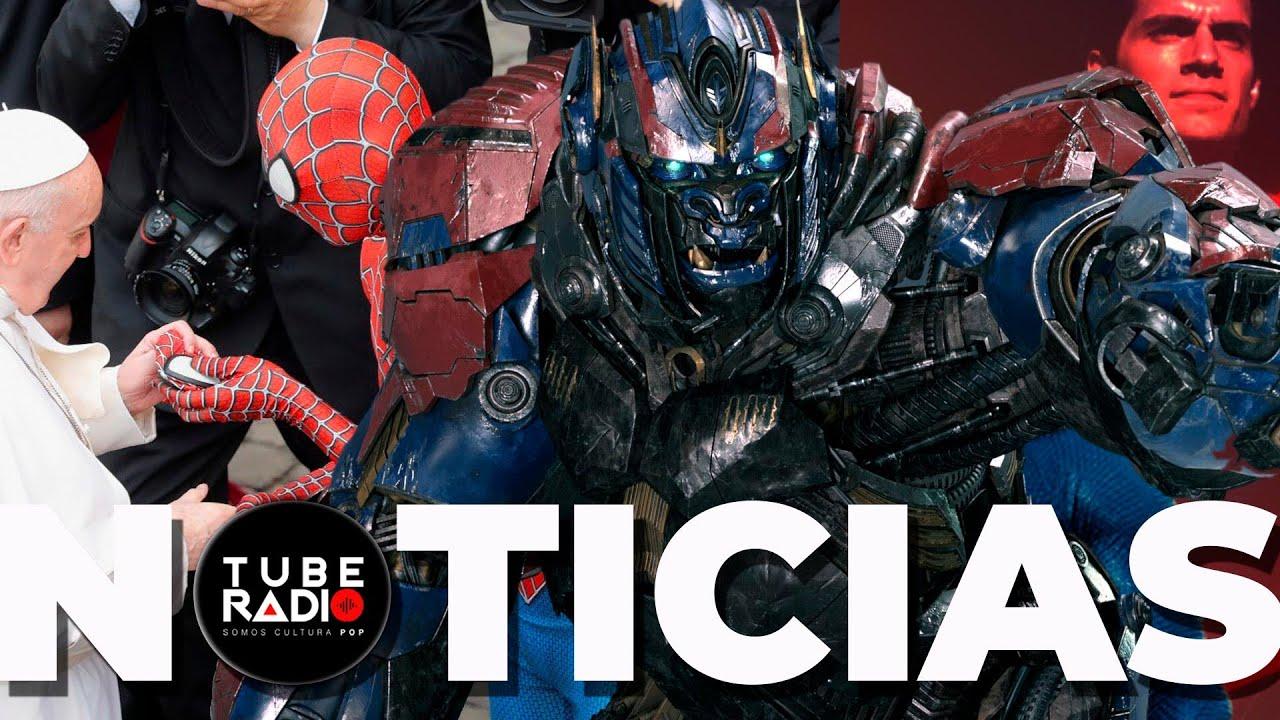 Fans de Superman Enojados, Crossovers épico en Transformers 7, Spiderman en el Vaticano