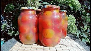 Помидоры маринованные в яблочном соке на зиму