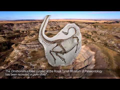 History in the Making - Ancient Canada: Ornithomimus