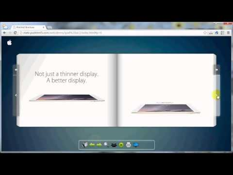 Create Online Page Turning Digital Publication easily