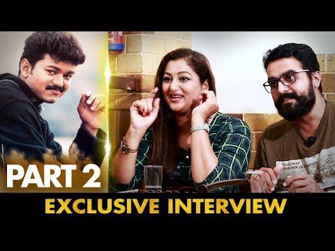 Acted with Thalapathy Vijay in Kushi   Actress Rekha Krishnappa & Actor Prakash Rajan Interview