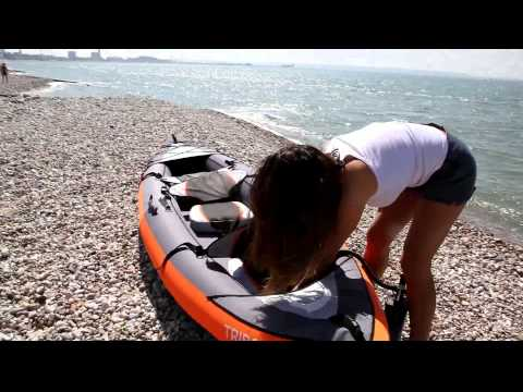 Kayak gonflable itiwit 3 tribord d cathlon yourepeat - Kayak gonflable 1 place ...