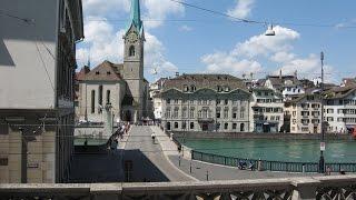 Путешествия по Европе Цюрих Швейцария  Touring Europe Zurich Switzerland(Путешествия по Европе Цюрих Швейцария Touring Europe Zurich Switzerland Цюрих расположен на берегу одноименного озера...., 2015-11-11T21:53:16.000Z)