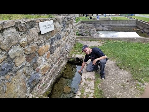 "Historic Berkeley Springs ""America's First Spa"" (George Washington's Bath Tub Too!) 6/8/17"