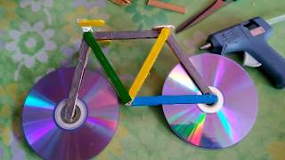 Bicicleta Reciclada De Palitos De Chupete