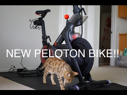 New Peloton Cycle DELIVERY: FIRST LOOK!