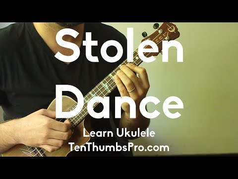 Stolen Dance - Milky Chance - how to play Ukulele Tutorial - w/Tabs and Play-a-long