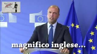 Il magnifico inglese di Angelino Alfano, il nostro nuovo ministro degli esteri