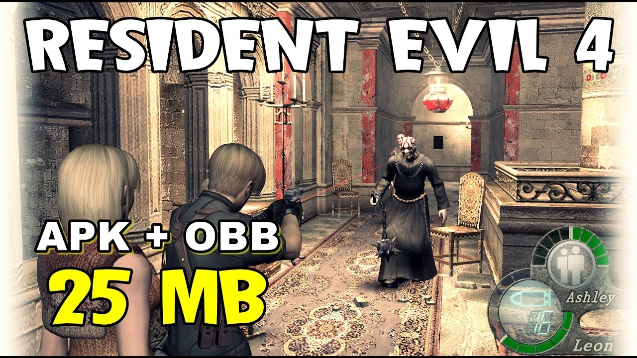 Resident Evil 4 Super Leve para Android (25MB)!!! APK+DATA