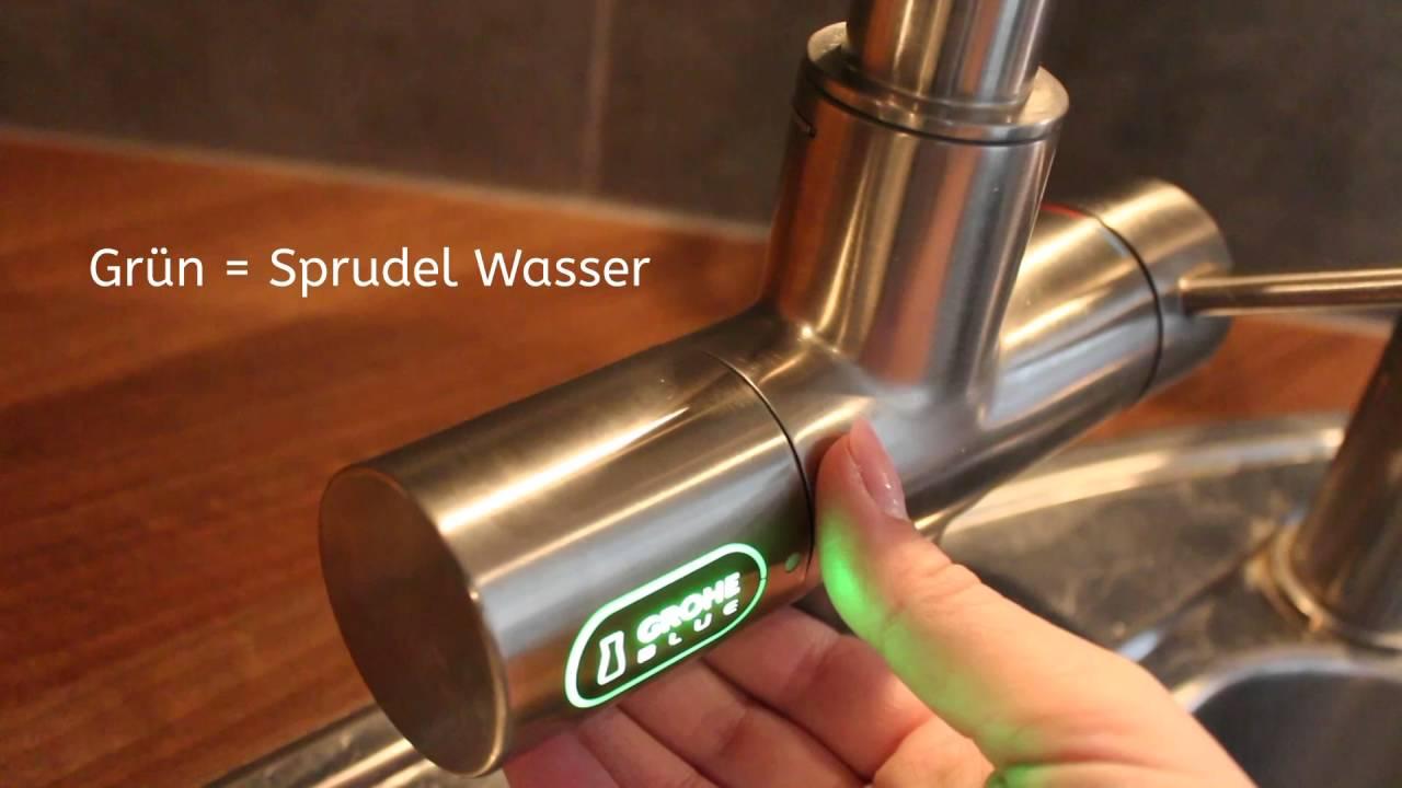 Finest Grohe Blue Erfahrungen Mit Wartung Anwendung With Kohlensure  Wasserhahn