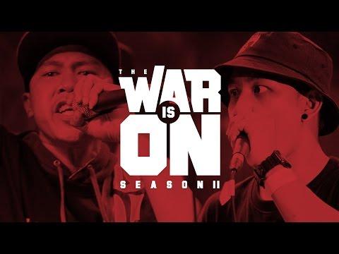 THE WAR IS ON SS.2 EP.10 - MONKEY P VS NIL LHOHITZ | RAP IS NOW