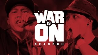 Repeat youtube video THE WAR IS ON SS.2 EP.10 - MONKEY P VS NIL LHOHITZ | RAP IS NOW