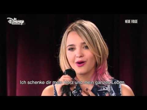 Violetta 2 - College 11 singen I love you im Studio (Folge 58)