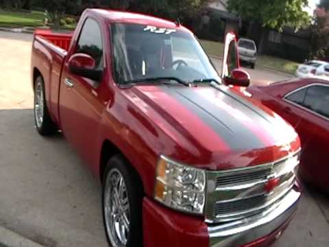 Cammed Silverado RST Open Cut-Out - YouTube