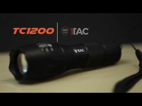 TC1200 Tactical Flashlight Reviews 2018 | Camping | Survival & Outdoor Gear | Military Flashlight