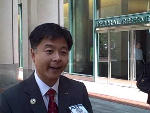 Ted Lieu on Tenant to Owner at Federal Reserve in San Francisco