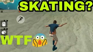 FREE FIRE .WTF (SKATING😱😂)MOMENT