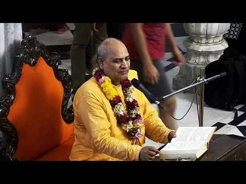 Evening Bhagavad Gita Hindi Class 02 59 by Tamal Krishna Prabhu on 12th May 2018 at ISKCON Juhu