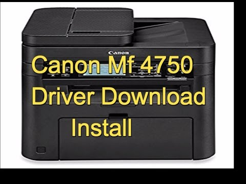 Scanner canon mf driver 4700