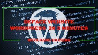 Cara Deface Website Wordpress 2017 (Hanya dalam 3 menit)