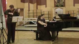 И.Брамс Соната для скрипки и фортепиано №3 Исп.Михаил Андрущенко, Вера Зырянова