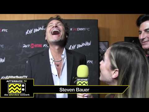 Steven Bauer At The Ray Donovan Pre-Season 5 Red Carpet (2017)