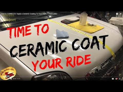 STOP WAXING Your Vehicles..... Ceramic Coat... Learn How