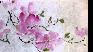 Lesson 46 Trailer Painting Dogwood in Xieyi and Gongbi CBP Styles with Henry Li