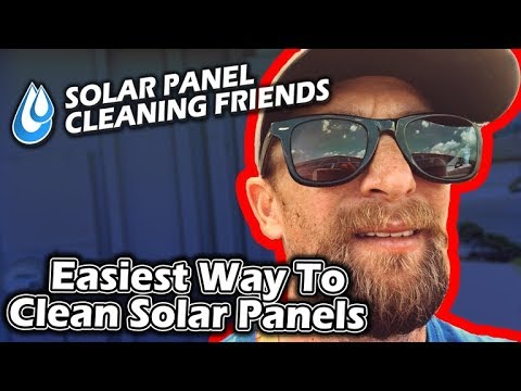 Easiest Way To Clean Solar Panels