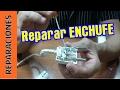Reparar o cambiar enchufe en electrodoméstico