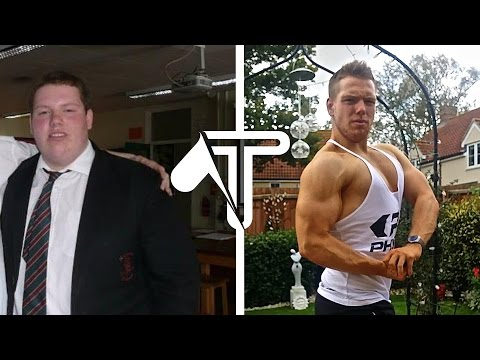 TRANSFORMATION: Bullied Boy's Inspiring 160 Pound Weight Loss Journey