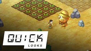 Doraemon Story of Seasons: Quick Look (Video Game Video Review)