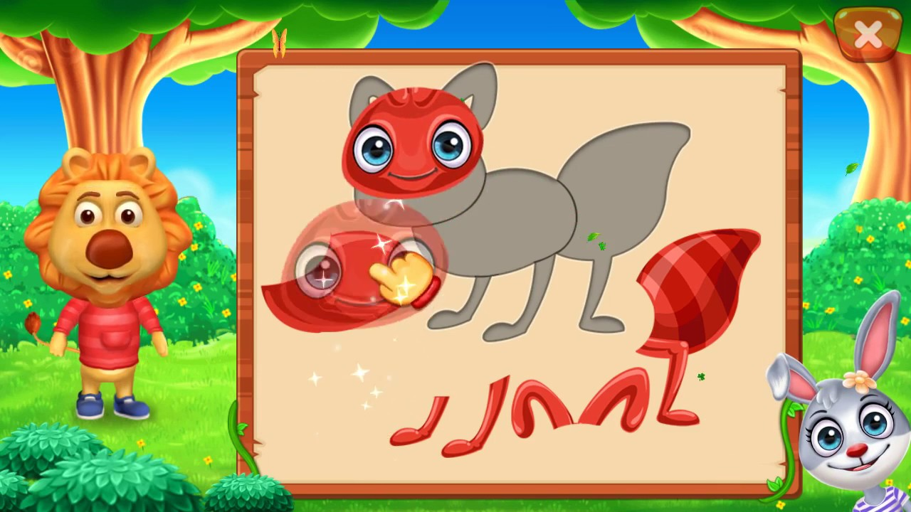puzzle kids animals shapes and jigsaw puzzles by rv appstudios