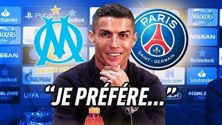 """Download Video """"OM OU PSG ?!"""" : L'AVIS DE RONALDO SUR LE CLASSICO ! (Ft. Zidane, Hazard...) MP3 3GP MP4"""