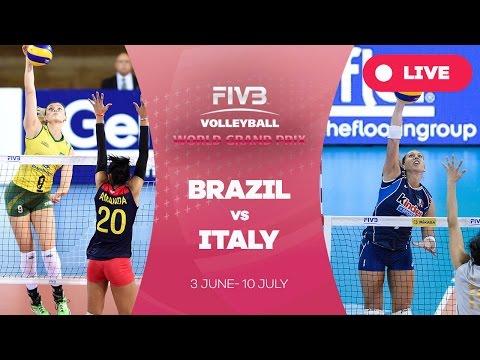 Brazil v Italy - Group 1: 2016 FIVB Volleyball World Grand Prix
