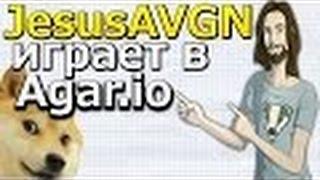 JesusAVGN играет в Agar io