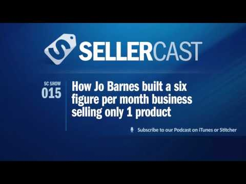SC15: How Jo Barnes built a six figure per month business selling only 1 product