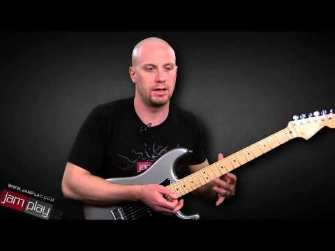 Basic Electric Guitar Lick Using the Delay Effect